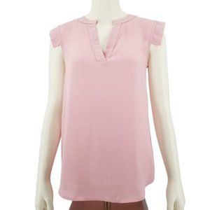 J. Crew Pink Sleeveless Top Blouse Size 00 (A284)